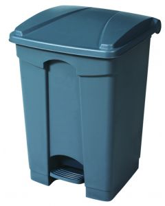 Coloured Step On Container - 45 Litre
