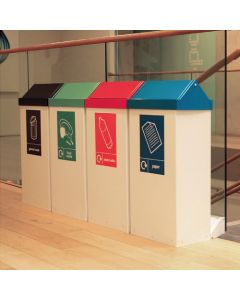 Swing-Cycle Recycling Bins - 80 & 98 Litre Available