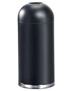 Open Top Torpedo Litter Bin - 55 Litre