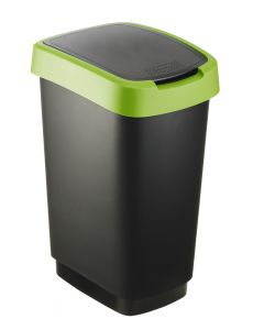 Plastic Internal Waste Bin with Double Operating Lid - 25 & 50 Litre Available