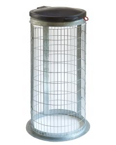 Wire Mesh Outdoor Bins